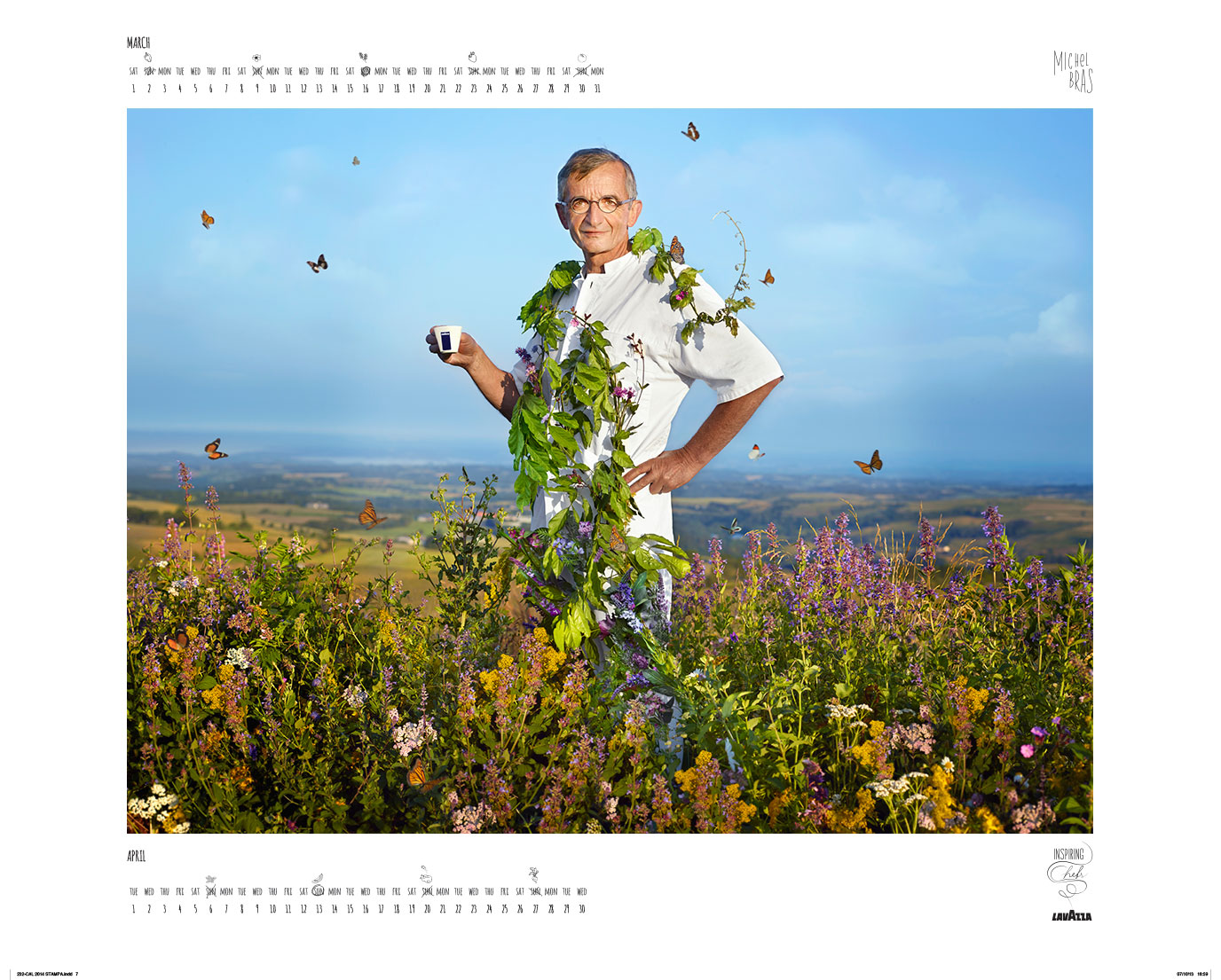 Lavazza_calendar_2014_March-April