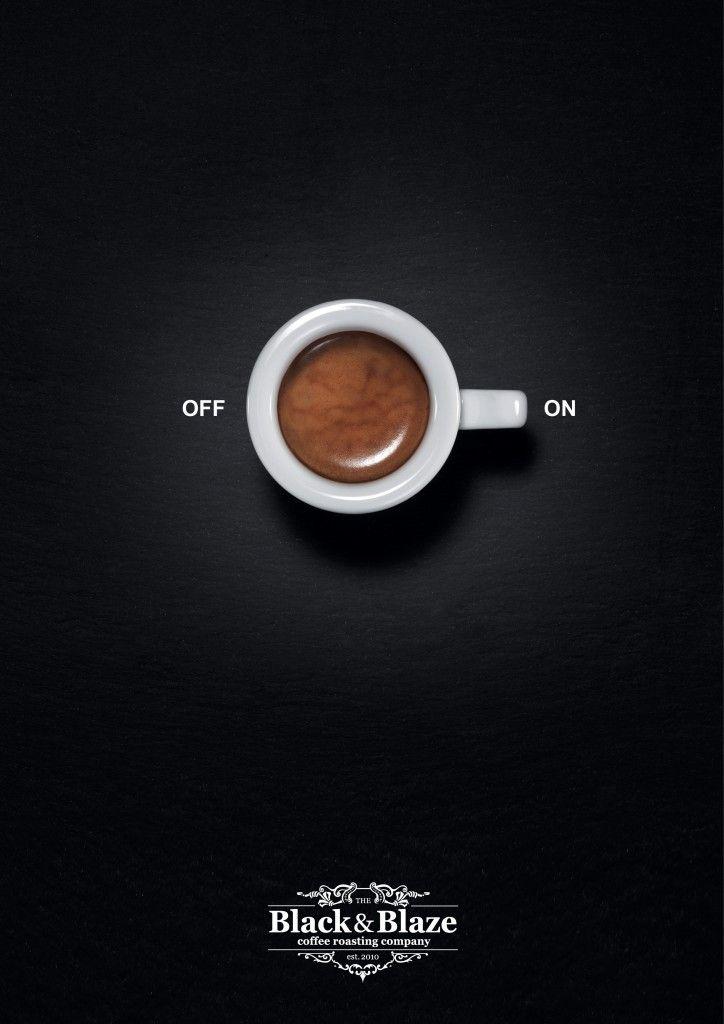 black&blaze кафе реклами