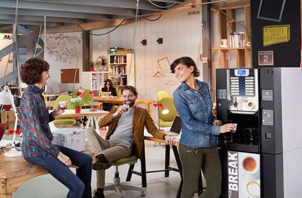 Нови кафе машини в офиса